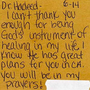 Patient Testimonial 8