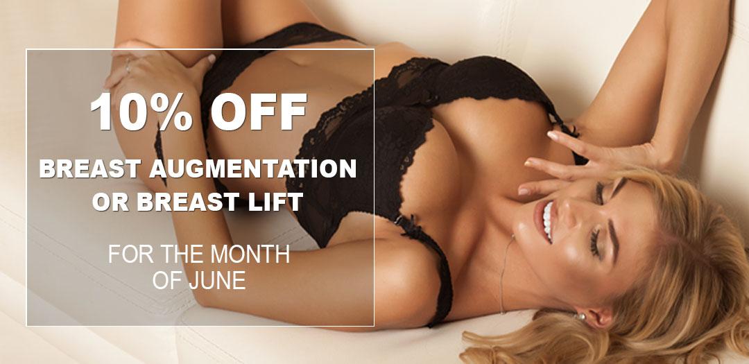 June Breast Augmentation Specials